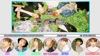 "BTS (방탄소년단) ""I NEED U"" [COLOR CODED] [ROM