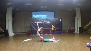 Zouk Show. Aleksandr Levchuk & Anna Galenda. Russian Zouk Championship. 1st Place