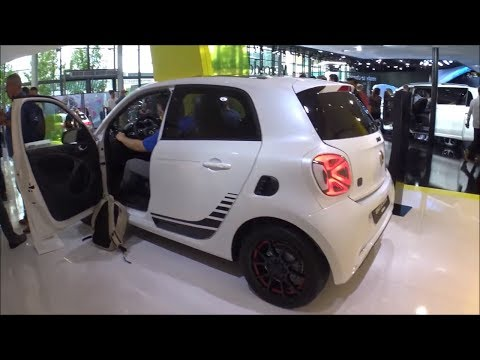 The new 2020 SMART cars in Frankfurt motor show