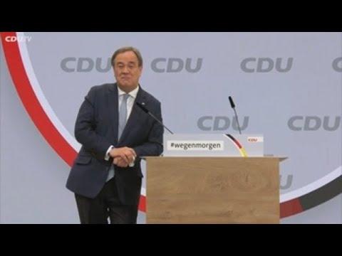 La CDU de Merkel opta por el centrista Laschet y evita el giro a la derecha