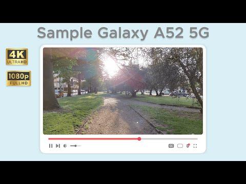 Test di ripresa da Samsung Galaxy A52 5G …