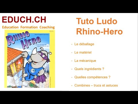 Rhino Hero Tutos ludos