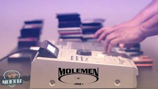 mpc 2000xl Beatmaking- Panik - Molemen instrumentals - Planet Asia Rasco CALI AGENTS