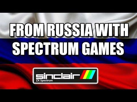 ZX SPECTRUM RUSSIAN GAMES