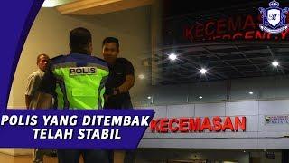 Ketua JSJ Selangor Melawat Anggota Polis Ditembak dalam tragedi tembak menembak NSK Kuchai Lama