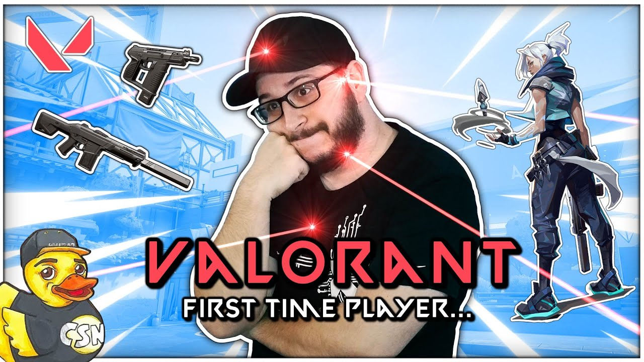 """AnthonyCSN - I Played """"VALORANT"""" for the First Time!!!"""