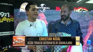 *Nota* Christian Nodal