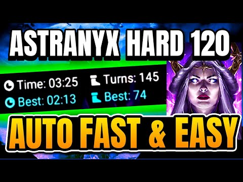 Easiest Team to Beat Stage 120 Dark Fae Astranyx in the Doom Tower I Raid Shadow Legends