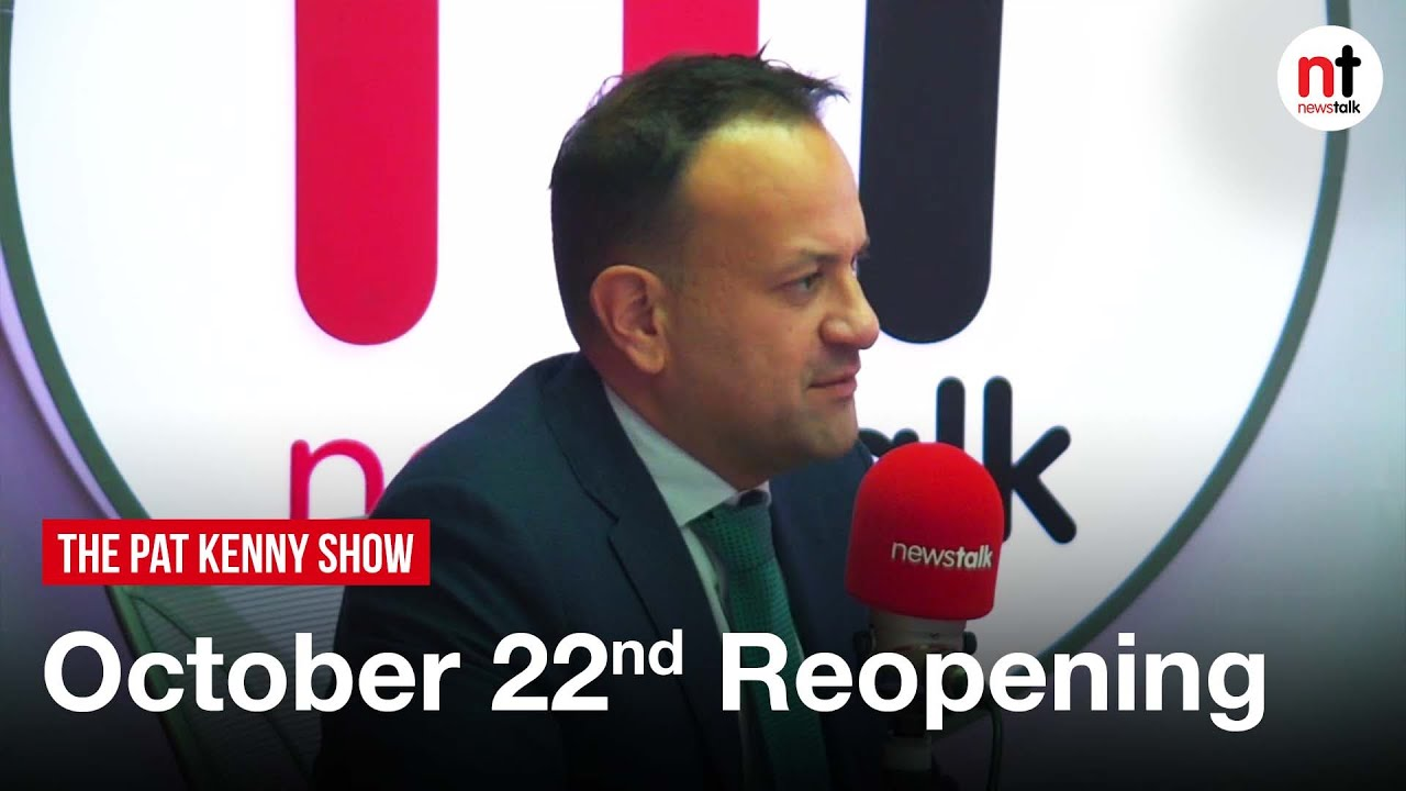 Varadkar 'Can't rule Out' some COVID-19 Restrictions remaining beyond October 22nd