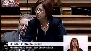 """Mariana Aiveca acusa Governo de """"terrorismo social"""""""