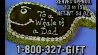 Carvel Fudgie the Whale 1985
