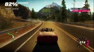 Forza Horizon | Chevrolet Corvette vs Helicóptero | Gameplay HD Español