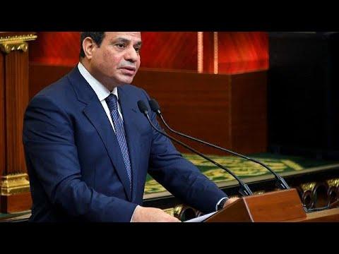 Egypte : le président al-Sissi entame son second mandat