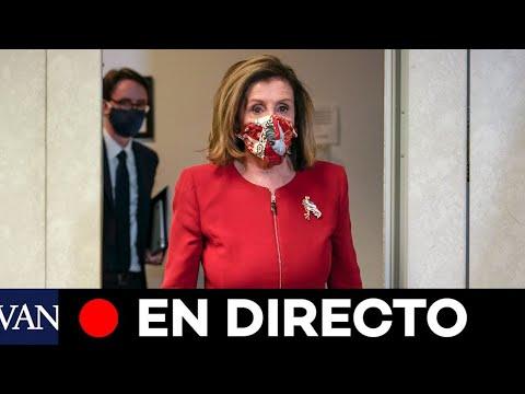 DIRECTO: Rueda de prensa de Nancy Pelosi