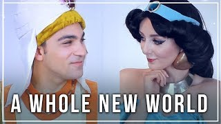 """A Whole New World"" from ALADDIN (Cover ft. Daniel Coz)"