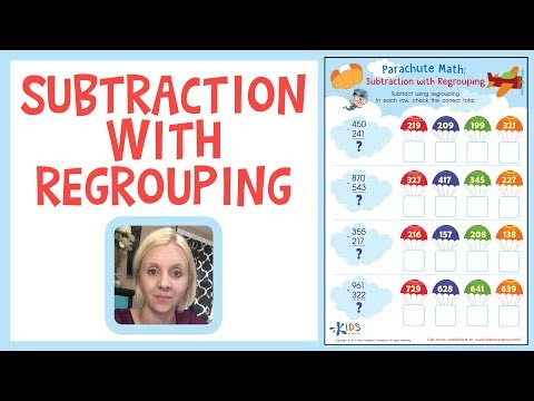Subtraction with Regrouping | Math for 3rd Grade | Kids Academy