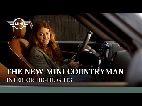 The New MINI Countryman I Interior Highlights