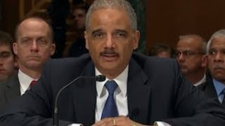 Eric Holder Vows To Senate: My DOJ 'Will Not Prosecute Any Reporter For Doing Their Job'