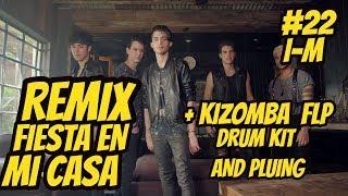CNCO Fiesta En Mi Casa REMIX + (FLP y MP3)