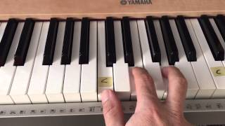 """3 Chord Easy Worship Piano Tutorial - """"Great Are You Lord"""" - (Matt McCoy)"""