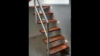 Escada para espaços pequenos .