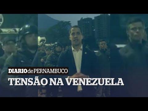 Guaidó convoca rua sem volta para tirar Maduro