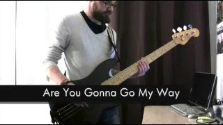 Lenny Kravitz - Are You Gonna Go My Way - Bass Cover