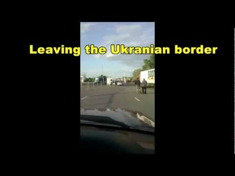 Driving To Russia 2012: Border between Ukraine and Russia – Road Kiev Moscow