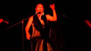 Amalia Romero. recital de cante 'Matita de Romero'.