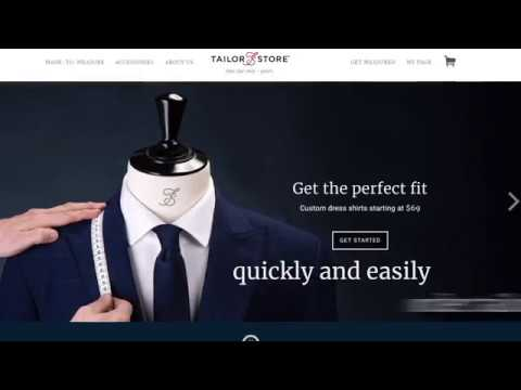 Tailor Store 20 sec explanation video