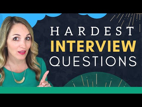 6 MOST Difficult Interview Questions And How To Answer Them photo