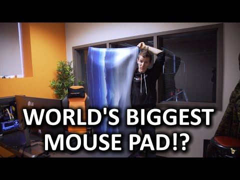 HOLY $H!T - Biggest mousepad in the world!?