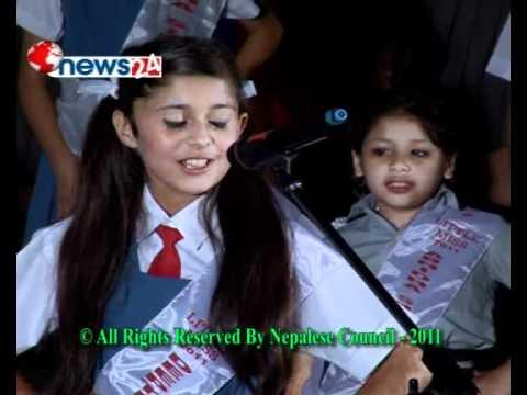 Little Miss World Nepal Final 13 to 24  Contestants , Organzied by Nepalese Council    Kathmandu Nepal