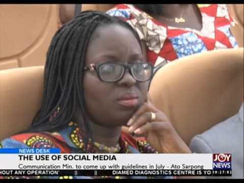True use of social media - News Desk on Joy News (29-4-16)