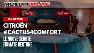Citroën #Cactus4Comfort | Milano Design Week 2018