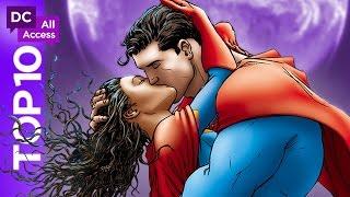 Top 10 DC Love Stories