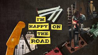 Chris Rea | Happy On The Road (Lyric Video)