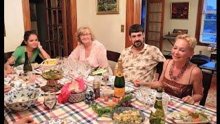Валя, Лиза, Катя, Коля, Сергей в гостях у Светланы и Армена--01Aug 2014
