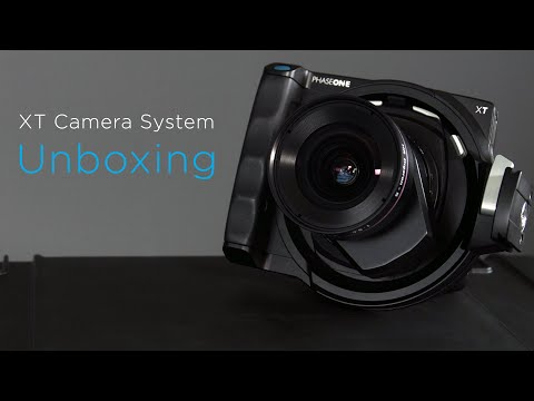Unboxing the XT Camera System | Phase One
