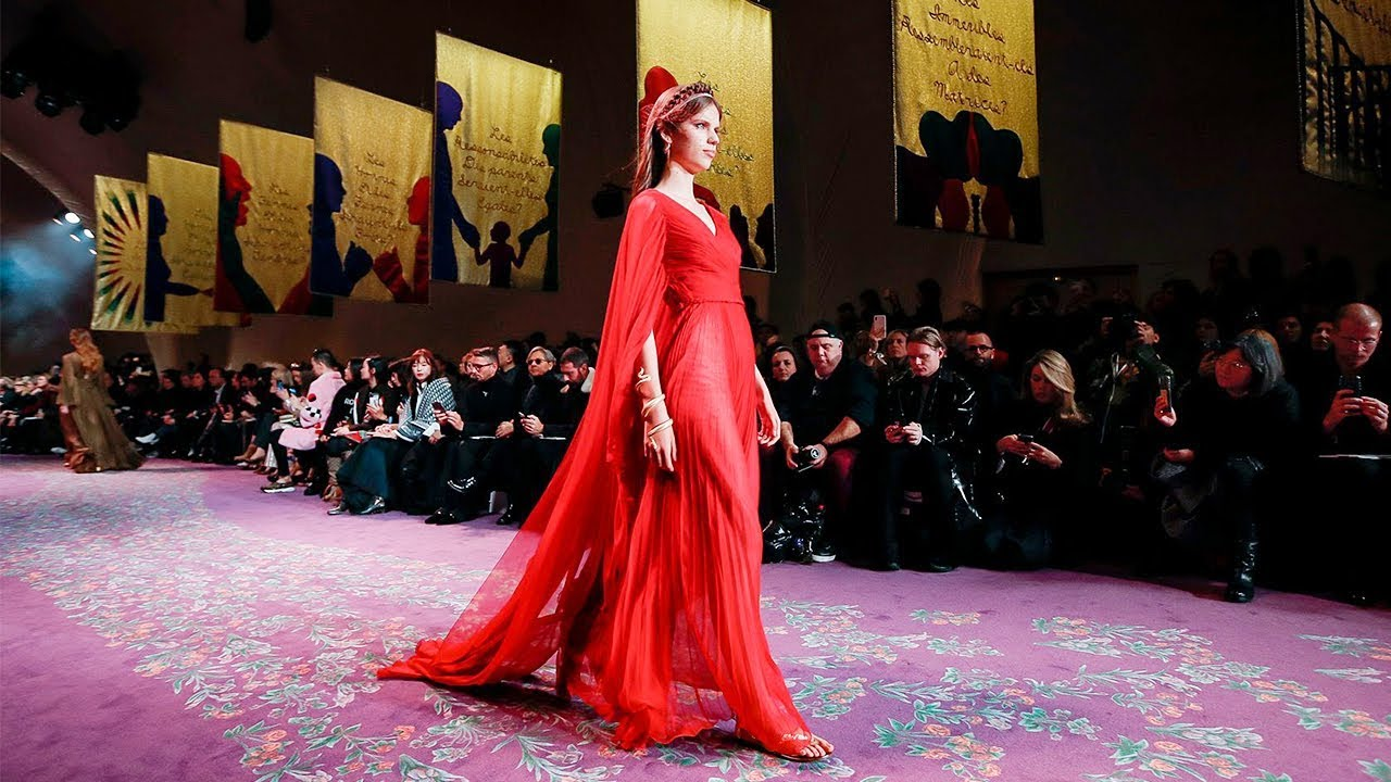 Christian Dior   Haute Couture Spring Summer 2020   Full Show