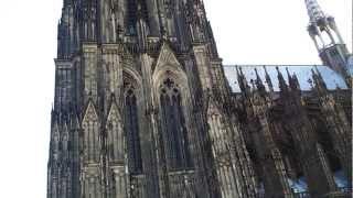Cologne Cathedral bells ringing (Kölner Dom Glockengeläut), Köln, Germany. 17.09.2012