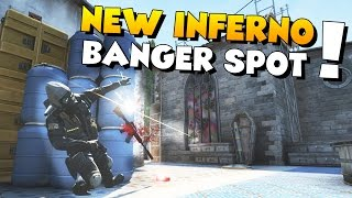 CS:GO - BANGER Spot on the New Inferno!
