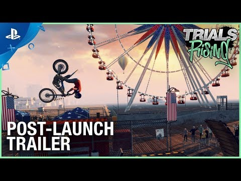 Trials Rising - Post Launch Trailer   PS4