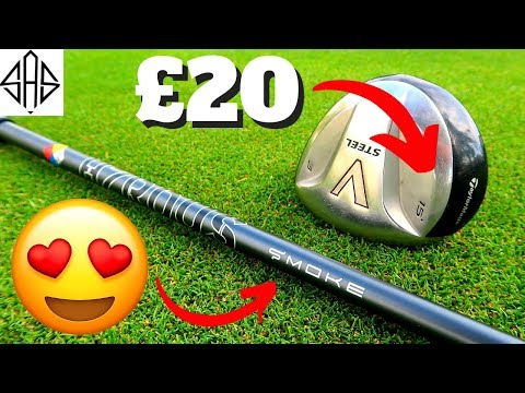 I BUILT THE RAREST TAYLORMADE GOLF CLUB IN THE WORLD!!!