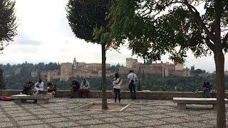GRANADA | ALBAICÍN | La Alhambra desde el Mirador de San Nicolás. Atracción flamenca. 2/2