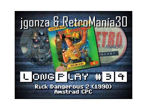 Rick Dangerous II - Amstrad CPC Longplay