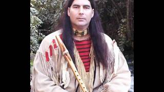 """""""Amazing Grace"""" on the native American flute  Mark Hicks"""