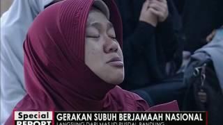 KH Bachtiar Nasir pimpin Doa penutup di Masjid Pusdai, Bandung - Spesial Report 12/12