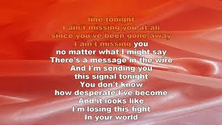 Missing You   John Waite