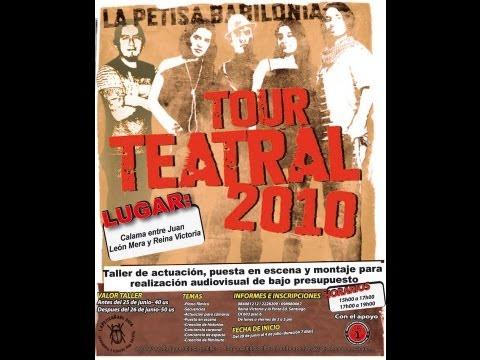 GIRA SURAMÉRICA 2010, ECUADOR, CON HUGO ARCHILA SANTAMARÍA.
